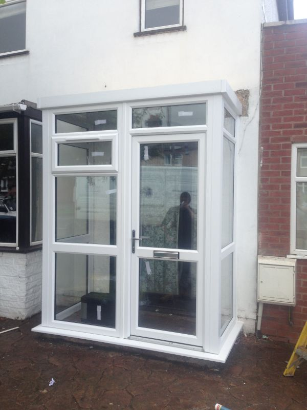 Double glazed porch 100