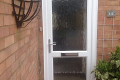 Double glazed door 100