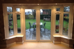 French door in bay