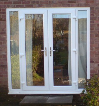 Mffrench1 windows doors conservatories roofline for Double opening french patio doors