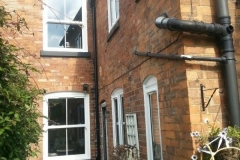 Box sash replacement windows